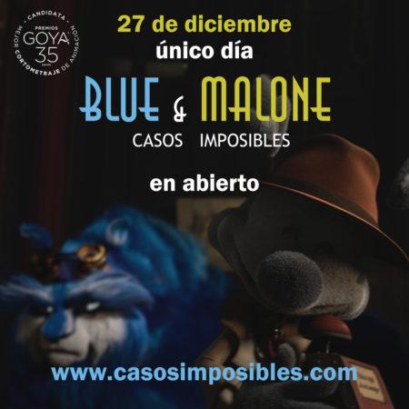 estreno blue y malone