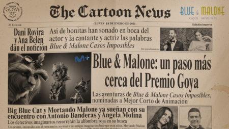 blue y malone nominación premios goya